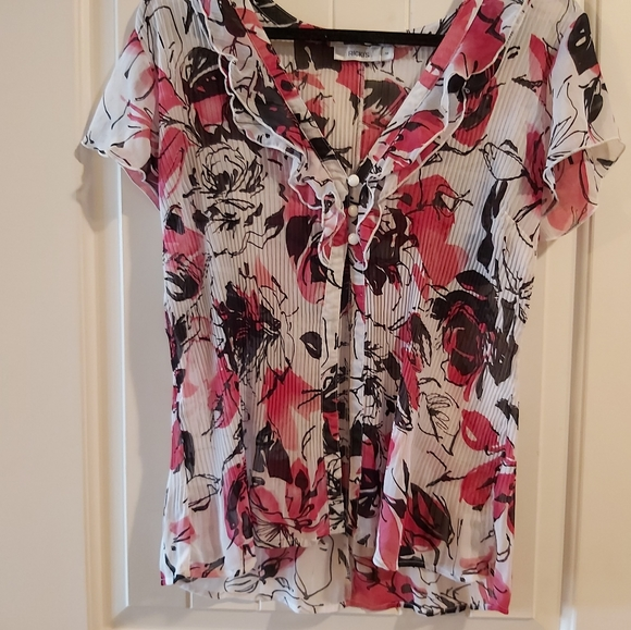 RICKIS BLOUSE-TOP BUTTONS ONLY/ hanging